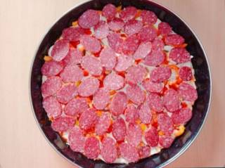 Пицца домашняя семейная 3