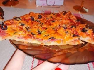 Пицца домашняя семейная 6