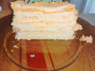Торт наполеон домашний 3