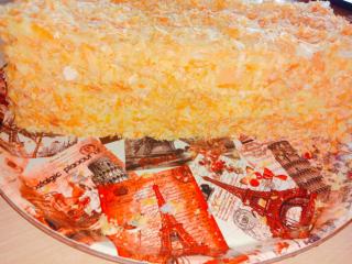 Торт наполеон домашний 2