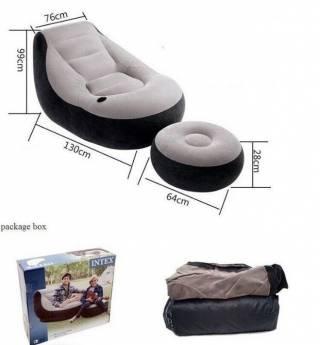 Надувное кресло с пуфиком 4