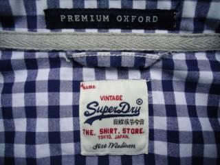 рубашка  Superdry Vintage Oxford Japan (M) 5