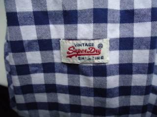 рубашка  Superdry Vintage Oxford Japan (M) 6
