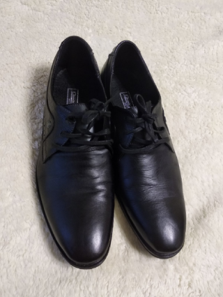 Туфли кожаные натурал. 42 р 3