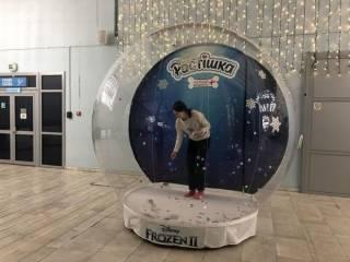 Надувные снежные шары Inflatable Snow Globe 3