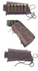 Патронташ на приклад ,кожаный на 6 патронов 12/16 калибра, на шнурке 3