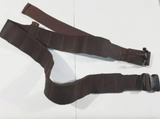 Патронташ -бандольера, кожаный открытый, на 20 патронов 12/16 калибр 3