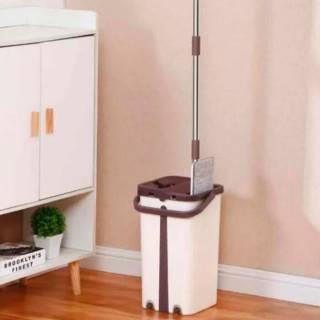 Швабра и ведро Scratch Cleaning Mop с системой отжима 4