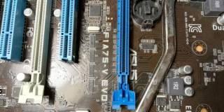 Материнская плата Asus F1A75-V Evo (sFM1, AMD A75)(под ремонт) 5