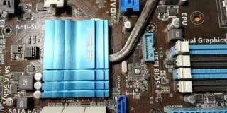 Материнская плата Asus F1A75-V Evo (sFM1, AMD A75)(под ремонт) 4