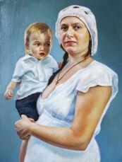 Занятия по Рисунку и Живописи. Картины на заказ. Портреты по фото! 2