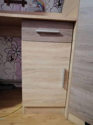 Детская кровать со шкафом и рабочим местом 4