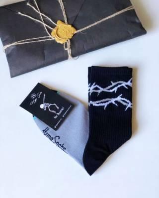 Стильные носки  Терновый Венок от HypeSocks. унисекс 3