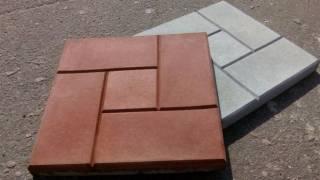 Тротуарная плитка 4