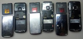 Nokia 6700 2рабочие+3 не включаются+плата и рамка 3