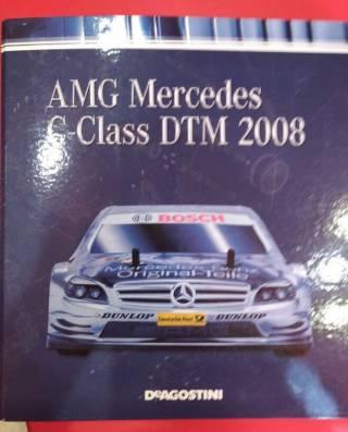 АМG Mercedes C-Class DTM 2008 Deagostini детали ходовой 3