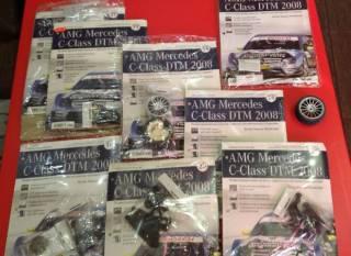 АМG Mercedes C-Class DTM 2008 Deagostini детали ходовой 6