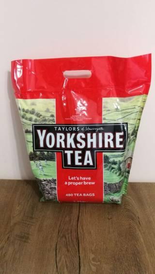 Чай - YORKSHIRE TEA - 480 пак. 1,5 кг. термін до 31.12. 2021 р. 3