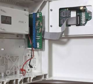 Прибор сигнализации ППК Дунай-4.3.1S на 2 сим. 5