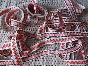 Тесьма декоративная лента в национальном стиле Из ссср 2