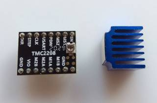 Драйвер шагового двигателя TMC2208 (Lerdge) 2