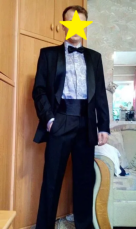 Мужской костюм фирмы newMen (Польша) 46 размер (170/92/78)