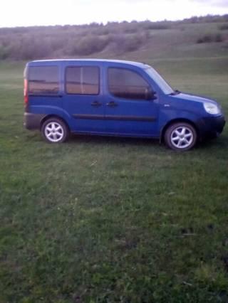 Fiat Doblo заводск.пассажир 2006 3