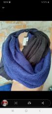 Новый ширменный шарф палантин снуд Clockhouse 6