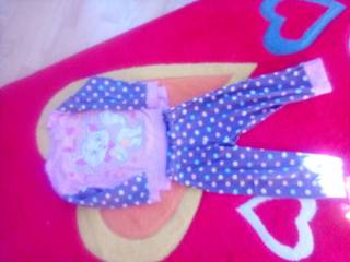 Пижама для девочки 1,5- 2,5годика 3
