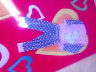 Пижама для девочки 1,5- 2,5годика 5