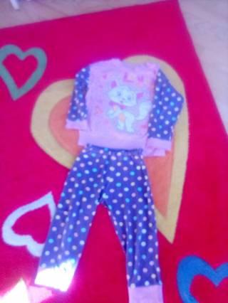 Пижама для девочки 1,5- 2,5годика 6
