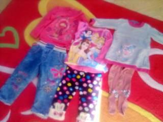 Лот одежды для девочки  годик -2,5лет. 2