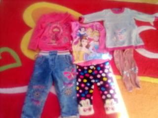 Лот одежды для девочки  годик -2,5лет. 4
