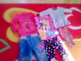 Лот одежды для девочки  годик -2,5лет. 6