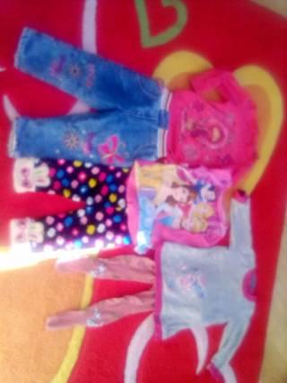 Лот одежды для девочки  годик -2,5лет. 8