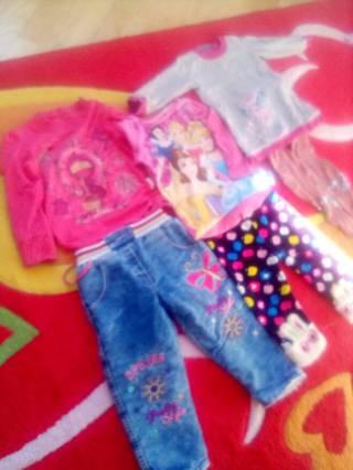 Лот одежды для девочки  годик -2,5лет. 5