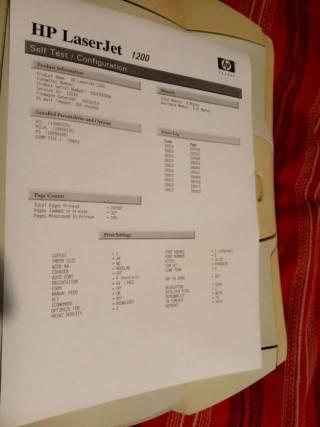 Принтер лазерный HP Laserjet 1200 Отличный 4