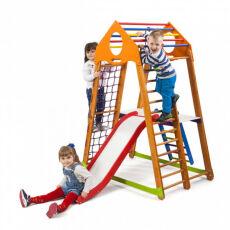 Детский спортивно-игровой комплекс для дома «BambinoWood Plus 2» 5