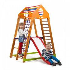 Детский спортивно-игровой комплекс для дома «BambinoWood Plus 2» 2