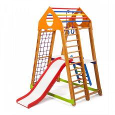 Детский спортивно-игровой комплекс для дома «BambinoWood Plus 2» 3