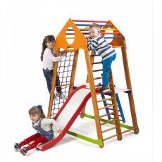Детский спортивно-игровой комплекс для дома «BambinoWood Plus 2»