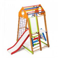 Детский спортивно-развивающий игровой комплекс «BambinoWood Plus 2» 5