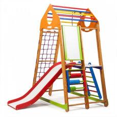 Детский спортивно-развивающий игровой комплекс «BambinoWood Plus 2» 4