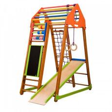 Детский спортивный деревянный комплекс для дома «BambinoWood Plus» 6