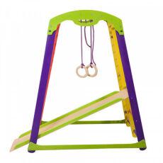Деревянный спортивный комплекс «Кроха 1 мини» для детей от 3-х лет 8
