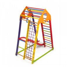 Детский деревянный спортивный комплекс «BambinoWoodColor Plus 1» 7
