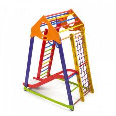 Детский деревянный спортивный комплекс «BambinoWoodColor Plus 1» 4