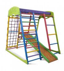 Деревянный спортивный детский комплекс для дома «Юнга мини» 4