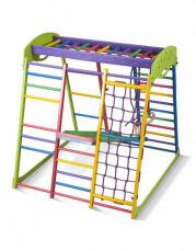 Деревянный спортивный детский комплекс для дома «Юнга мини» 6
