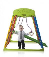 Деревянный спортивный детский комплекс для дома «Юнга мини» 3